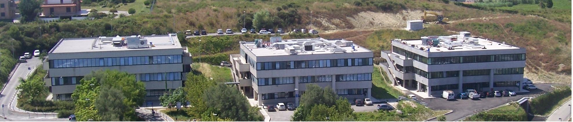 Le tre palazzine sede del Dipartimento