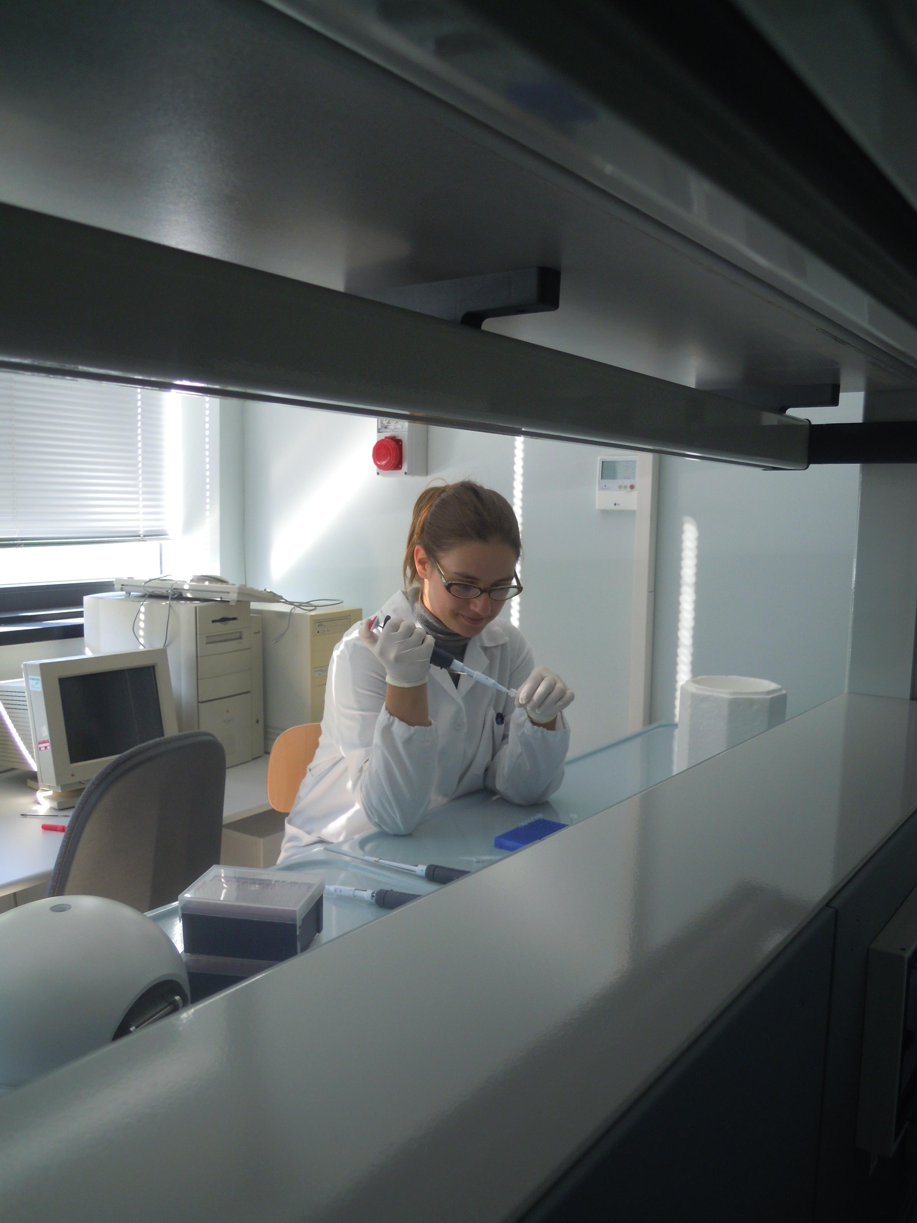 laboratorio di genetica evoluzionistica