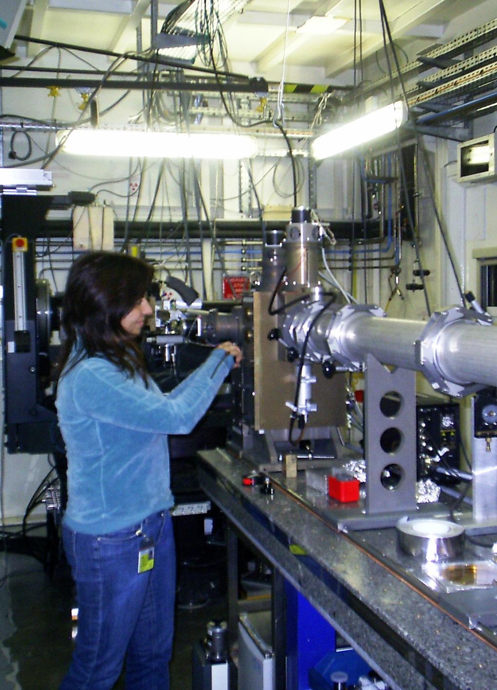 Esperimenti SAXS al sincrotrone di Grenoble (ESRF)