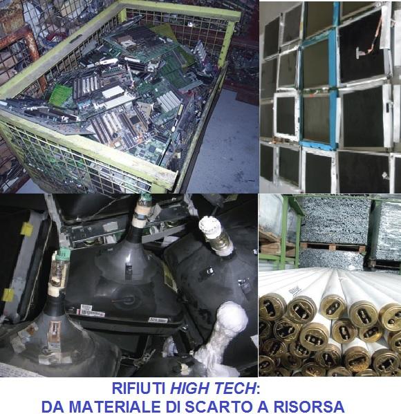 rifiuti high tech