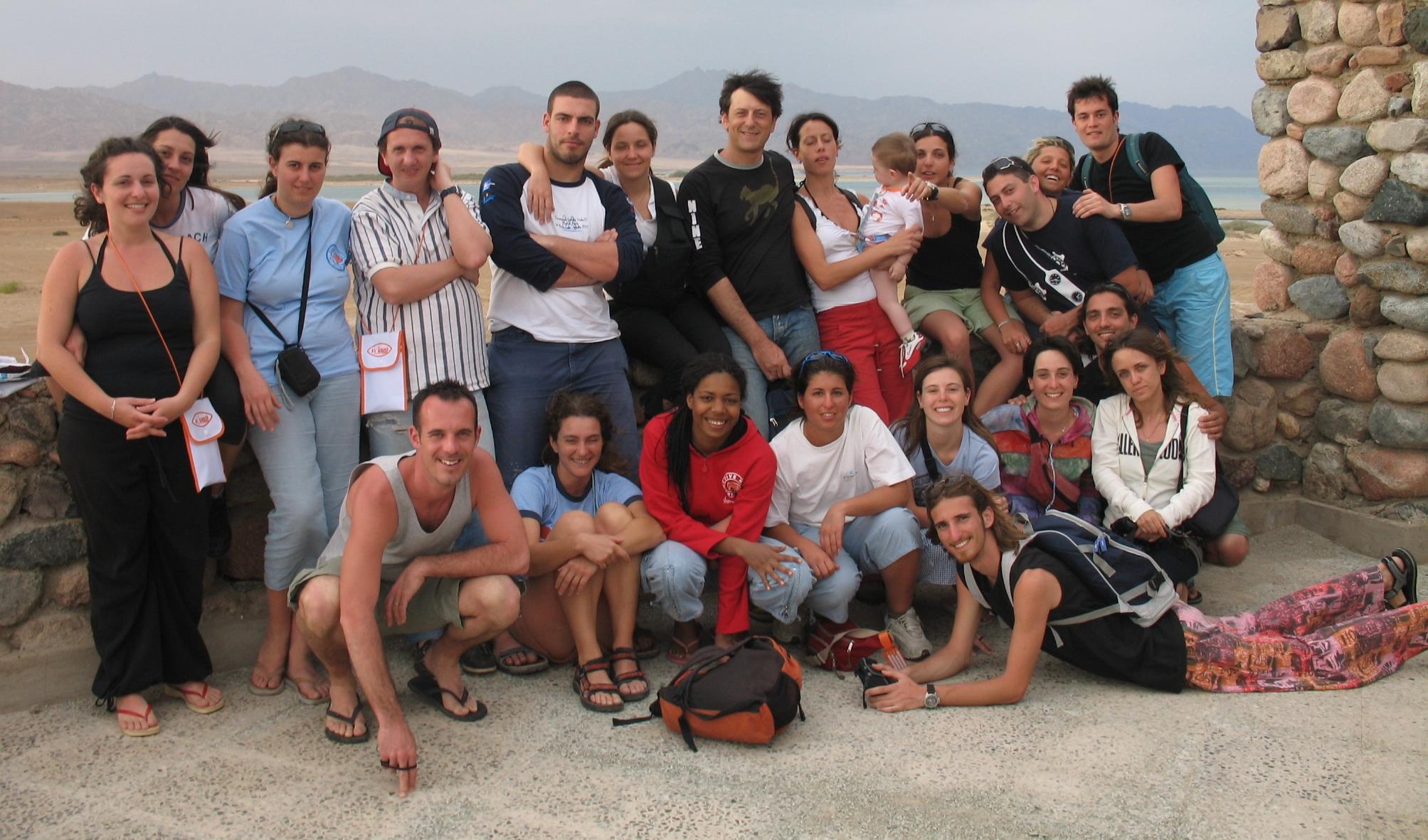 studenti di Scienze in viaggio di istruzione